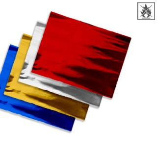 Plastic film sheet metallic  fire retardant