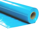 Plastic film roll standard 1,5x100m - light blue