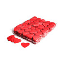 Slowfall confetti heart - red 1kg