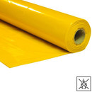 Plastic film roll premium flame retardant 2x50m - yellow