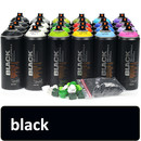 Spray paint black (9001) 400 ml